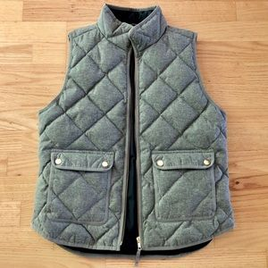 J. Crew Quilted Puffy Vest